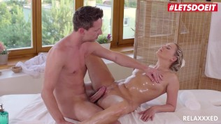 Relaxxxed – Barra Brass Horny Czech MILF Intense Sensual Fucking With Hot Masseur – LETSDOEIT